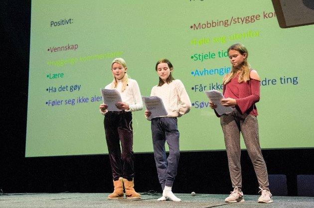VIKTIG: Elevrådskonferansen i Oseberg Kulturhus ifjor høst var ett av flere viktige tiltak for å forebygge mobbing.