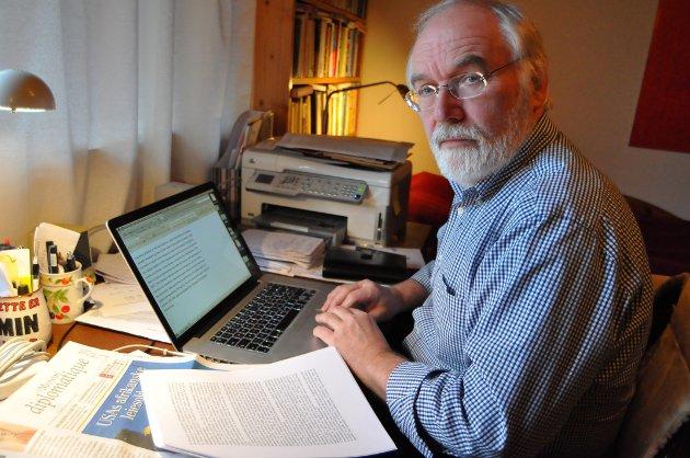 Lasse Takle, Levanjger, oversetter franske nyheter til norske medier