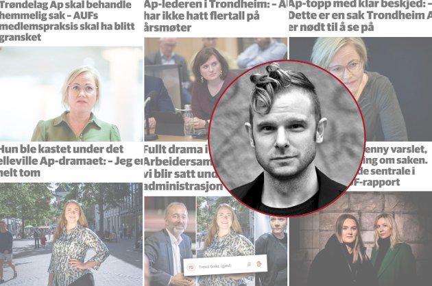 Arbeiderpartiet har fortsatt en lang vei å gå i hvordan de behandler vanskelige, organisatoriske saker, skriver politisk redaktør i Nidaros Snorre Valen.