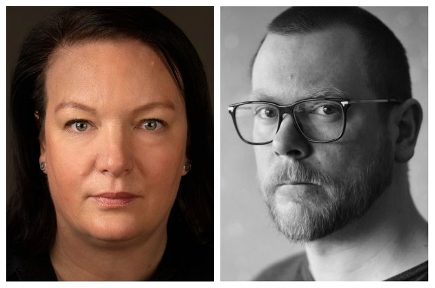 Hege Bae Nyholt er Rødts førstekandidat i Sør-Trøndelag til høstens valg, mens Rainer Svartrapmo er distriktsleder i Rødt Trøndelag.