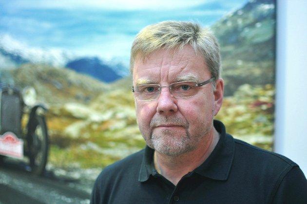 Lars Steinar Ansnes, ansvarlig redaktør/daglig leder i Aura Avis.
