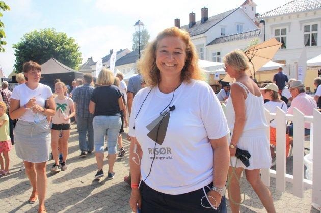 Kari-Anne Røisland godt fornøyd med årets festival.