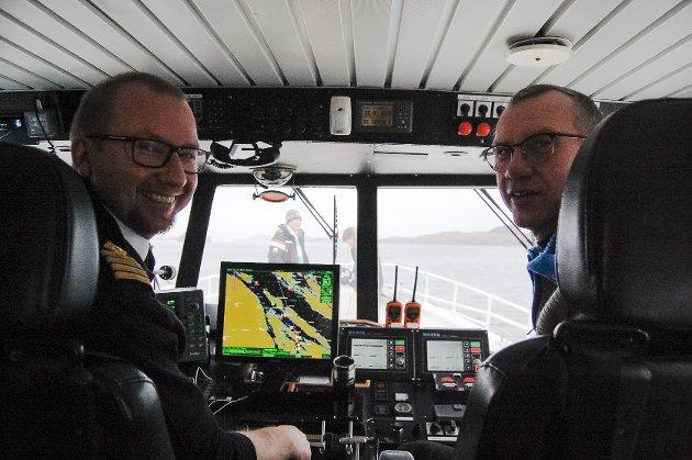 Brødrene Terje og Oddfinn Nyhammer er henhaldsvis kaptein og eigar.