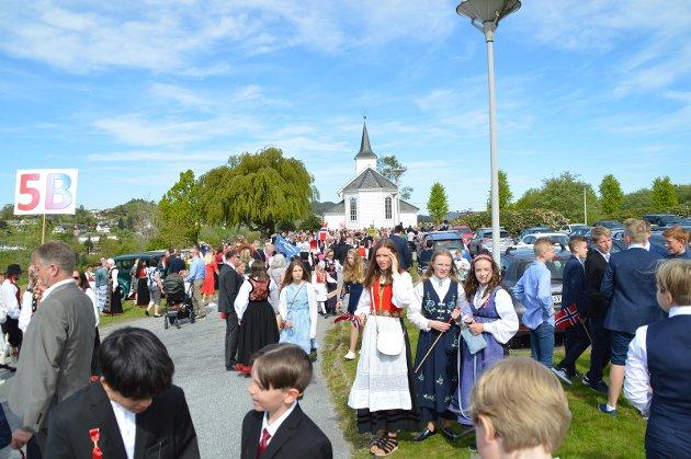 17. mai feiringa i Alversund