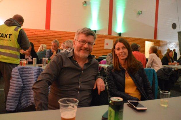 Jon Halstein Tjore og Ann Cristin Hoen frå Sæbø.