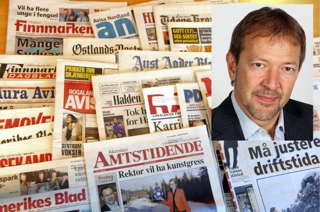 Aviser og opplag lokkalaviser a-presseaviser