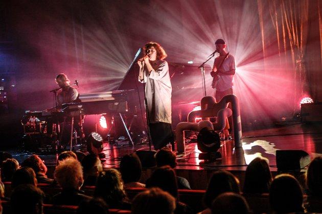 I Stormen: Emilie Nicolas og bandet hennes leverte en herlig konsert i Stormen.