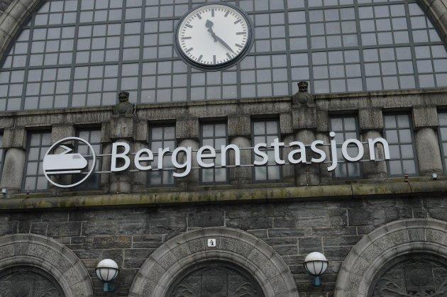 Jernbanestasjonen i Bergen, Bergen stasjon