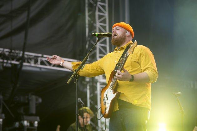 Tom Walker på første dag av Bergenfest 2019, på Plenen.