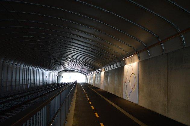 Bybanen har allerede mange tunneler.