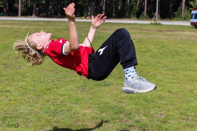 SOMMERGØY: Denne friskusen deltok på Sommergøy i Modum i 2019.