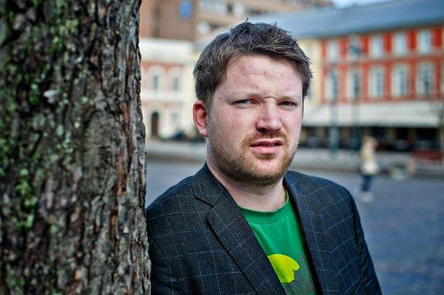 STERKE MELDINGER: Tore Remi Christensen overlevde Utøya-massakren.
