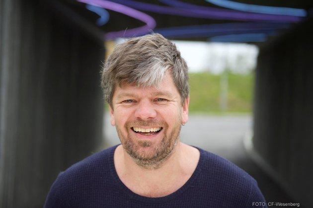ØNSKER VENSTRE LYKKE TIL I REGJERING: Og ber om å bli trodd på at han mener det. Ståle Sørensen, MDG i Drammen.