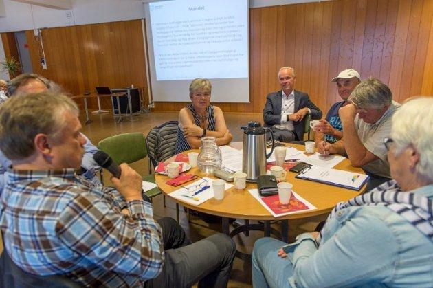 Innsender Stein Andersen mener at de som skal avgjøre kommunereformens skjebne i Øvre Eiker, har flertallet med seg på et ja til å stå alene.  (Arkivfoto: Rune Folkedal)