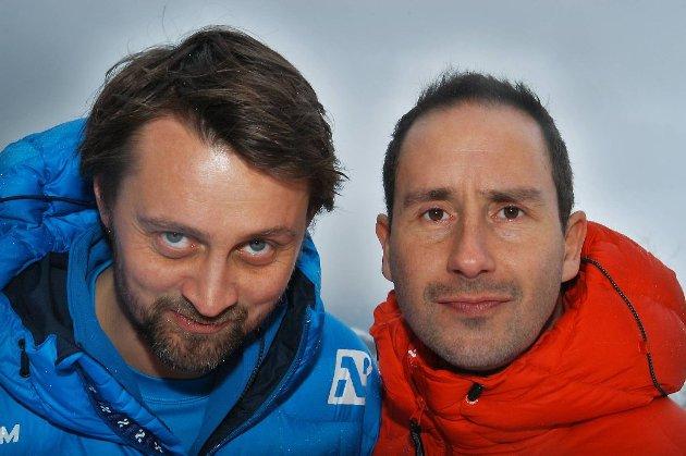 Thomas og Harald i Senkveld.