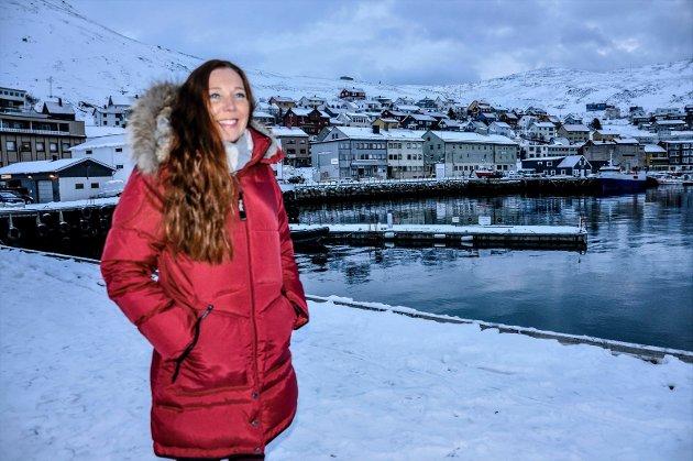 Kari Lene Olsen er styreleder i Nordkapp Arbeiderparti.
