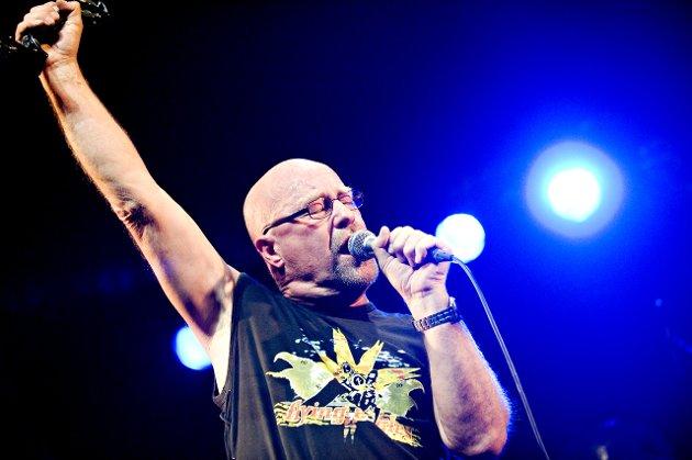 Tydeliggjør vokaltalentet: Jan Groths stemme stråler på platen «The Writing On the Wall».Arkivfoto: Jon Olav Nesvold