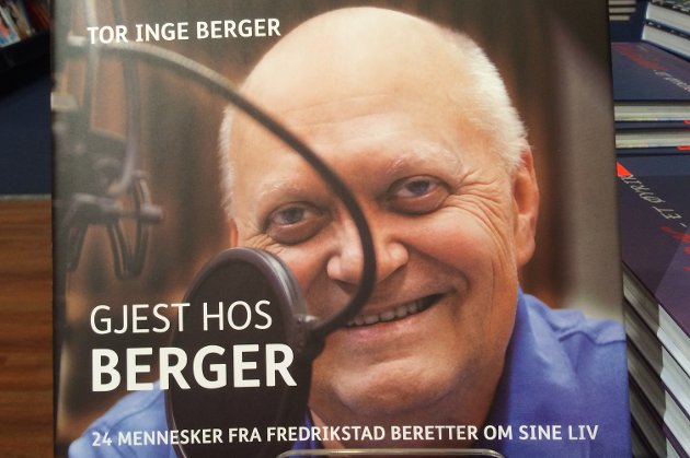 Jørn Enger pryder forsiden på «Gjest hos Berger» som ble Tor Inge Bergers siste bok. Leif Egil Andreassen anbefaler den varmt.