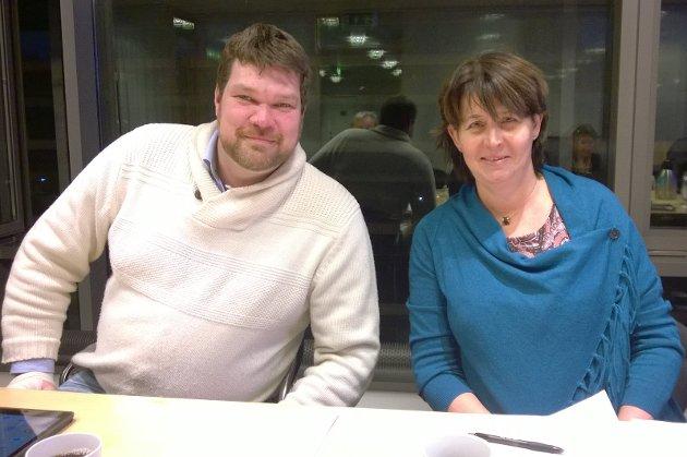 Brevforfatterne Lars Petter Kuran og Mariannen Kristiansen vil åpne 16 sykehjemsplasser som kan tas i bruk på Onsøyheimen.