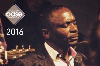 Surpresa Sithole, bilde fra Oases hjemmeside. Der står det om Sithole at han ble reddet ved Guds konkrete tiltale  og står i en sterk tjeneste med under og helbredelser i eget land.