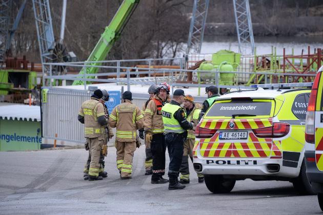 Området ved Kynningsrud på Rolvsøy ble evakuert onsdag ettermiddag som føgle av en gasslekkasje.