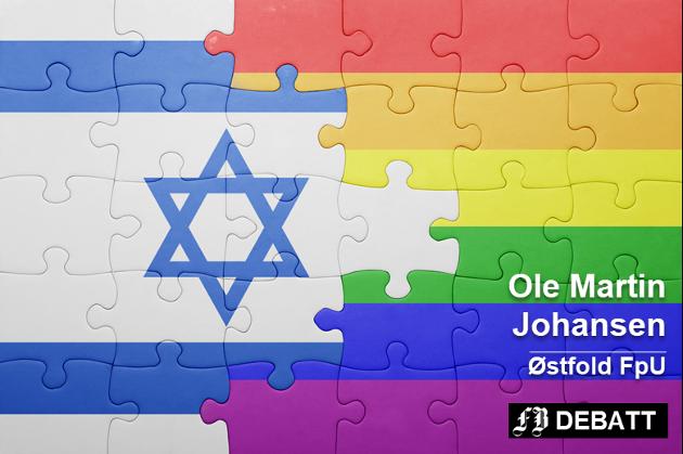 Tel Aviv arrangerer også hvert år en av verdens største Pride-parader, opplyser Ole Martin Johansen. Slik illustrerer bildebyrådet Colourbox samspillet.