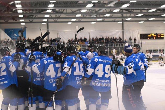 Narvik vant 2-0 Stavanger Oilers i Nordkraft arena 21. desember 2019.