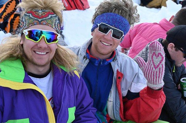 Markus Garnes og Rasmus Arnøy