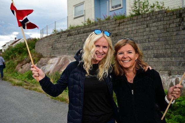 Vera Berglund og Hanne Enevoldsen
