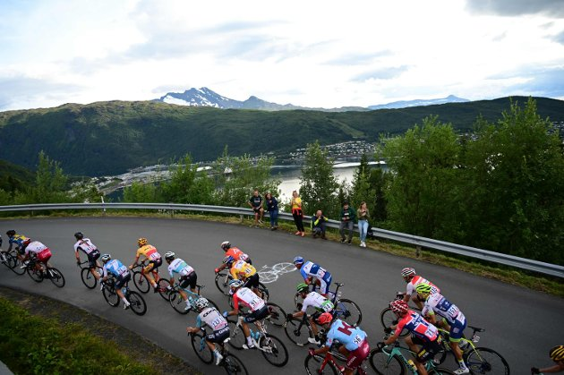 Arctic Race of Norway 2019 i Narvik.