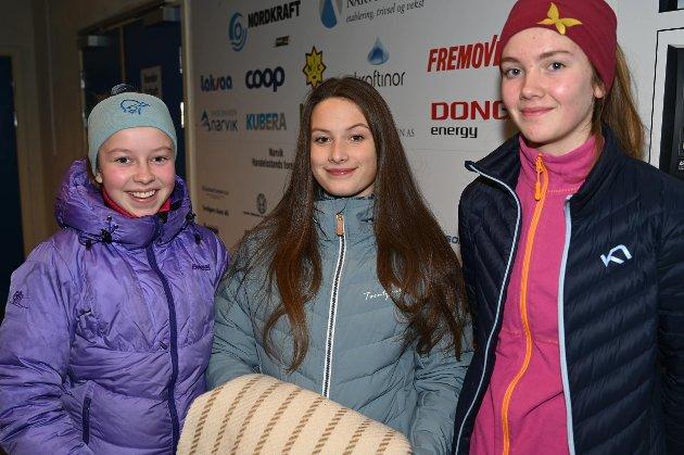 Andrea Høgset, Aurora Hansen og Maria Johanessen