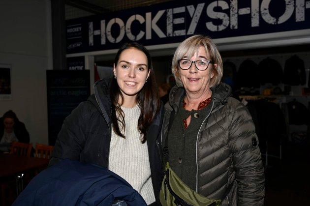 Ann Synnøve Sørensen og Celine Ekberg