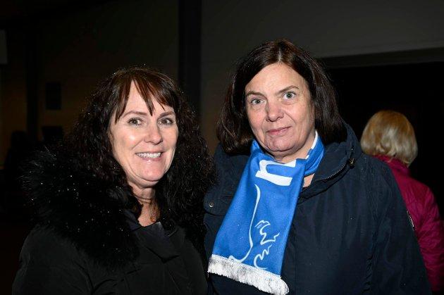 Aina Mathisen og Bente Kvanmo