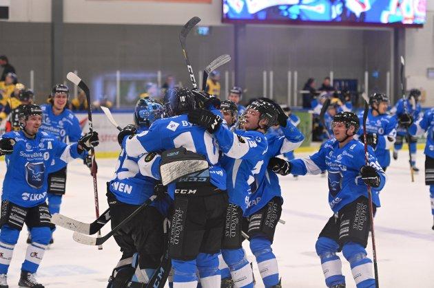 Mer jubel: Vinner Narvik lørdag etter ordinær tid blir det NM-kvartfinaler i Nordkraft Arena neste uke.