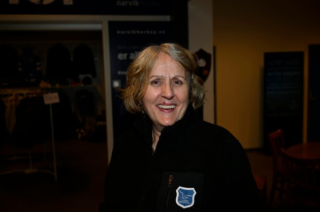 FØLGER SMITTEVERNBESTEMMELSER: Anne Signe Mangersnes, leder for arrangement i Narvik hockey.