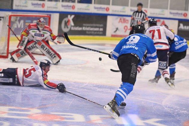 arctic eagles narvik ishockeyklubb nordkraft arena ishockey Lillehammer 070121