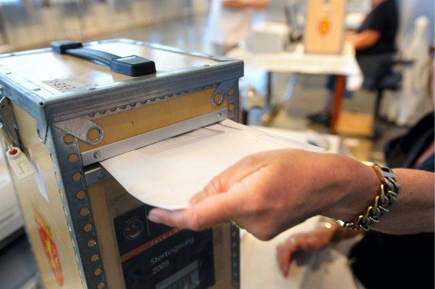 BRUK STEMMERETTEN: I dag gjelder det å komme seg ut og stemme. Allerede har rekordmange stemt i forhåndsstemmingen, både i Narvik og ellers i landet.