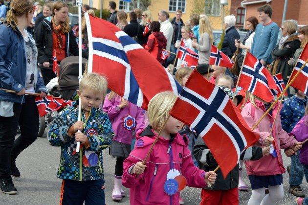 Norske flagg