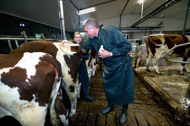 Veterinærene Lars M. Navelsaker  og Annie Haavemoen, to av fire som i dette debattinnlegget tar opp veterinærberedskapen i Gausdal og Lillehammer.   Foto: Torbjørn Olsen