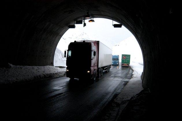 Uro: Fåbergingene kjemper hardt for at ny E6 skal legges i lang tunnel forbi tettstedet. Ill.foto