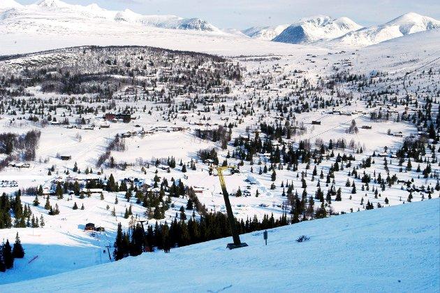 Fra sentrum av Mysusæter er det et nettverk av skiløyper. (Arkivfoto)