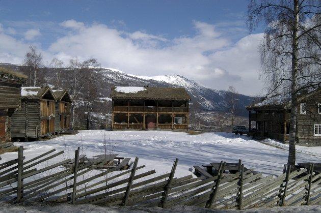 Jutulheimen i Vågå, del av Gudbrandsdalsmusea. Etter kvart også del av musea i det nye Innlandet. Arkivfoto