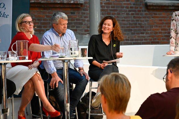 MDG-VALG: Monica Rønning og MDG vil støtte Ingunn Trosholmen som ordfører.
