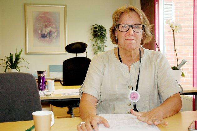 UVISSHET: Adm. direktør Alice Beathe Andersgaard varsler nye styringssignaler for Innlandets sykehusutvikling.