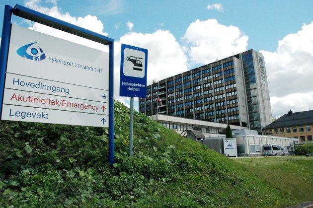 SLAGSENTER: Et slagsenter hos sykehuset i Lillehammer er positivt, dersom det er en reel styrking.