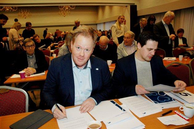 Oddvar Møllerløkken, leder, Innlandet Høyre.
