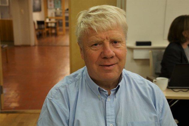 Olaf Haakenstad, medlem eldrerådet i Lunner