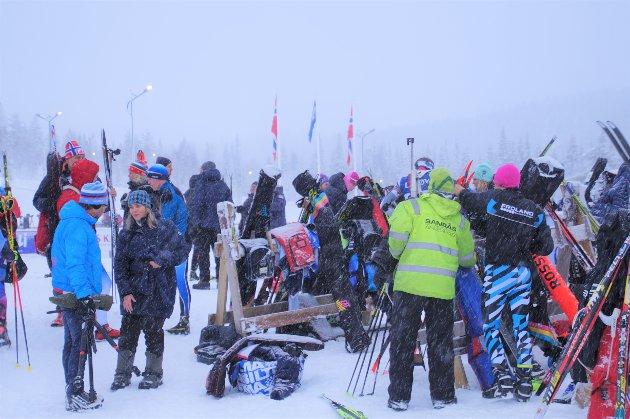 LYGNA SKISENTER: Norgescup skiskyting.