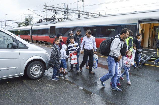 RESSURS: – Flyktningene er en ressurs. Og i Halden er vi alle samboere. La oss dyrke det beste i oss – sammen! Skriver Sverre Stang i sin Signert. Arkivfoto: Thomas Lilleby