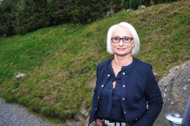JOBBER FOR FENGSEL: Elin Lexander, leder i Halden Høyre, skriver at de jobber langsiktig med å utvide Halden fengsel.